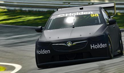 V8SC Holden ZB - Stealth Black Matte