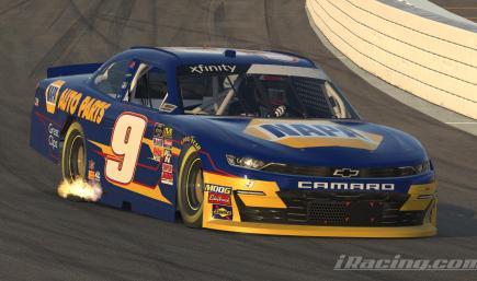 Chase Elliott 2014 Napa Camaro W/Number