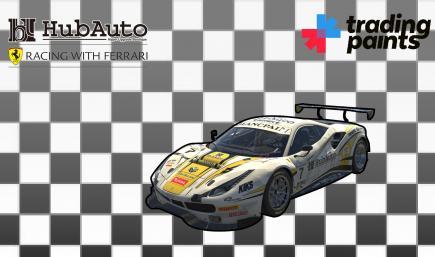#227 HubAuro Corsa Racing With Ferrari - Ferrari 488 GT3