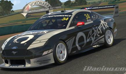 Supercars Ford Mustang GT - ShiftR - Altimo Giro Livery
