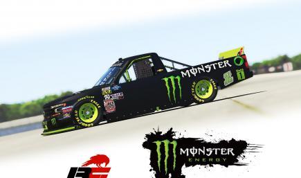 Monster Chevrolet Silverado Truck 2020 v2B
