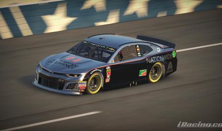 Dale Earnhardt JR Gray Ghost NO # - Chevrolet Camaro ZL1 Gen 6