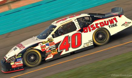 David Stremme 2006 Discount Tire with Number