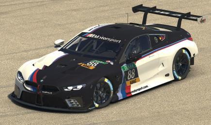 Schubert Motorsport Race Room Central BMW M8