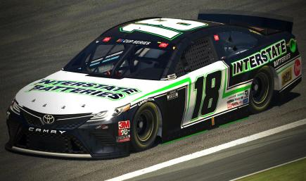*Fictional* 2020 Interstate Batteries JGR Concept (White)