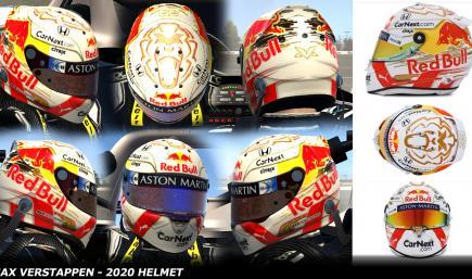 Max Verstappen 2020 - Testing Helmet