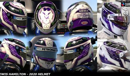 Lewis Hamilton 2020 - Testing Helmet