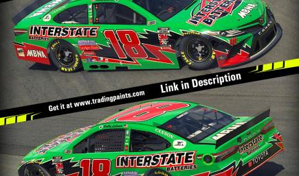 Bobby Labonte 2003 Interstate Batteries Toyota Camry Cup #18