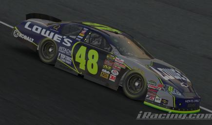 Jimmie Johnson 2005 Lowes 06 preview