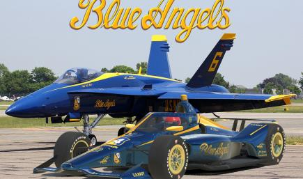 Dallara IR18 Blue Angels