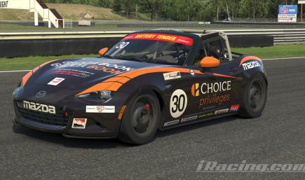 Mazda MX-5 Global Cup - Ted Sahley Choice Rewards