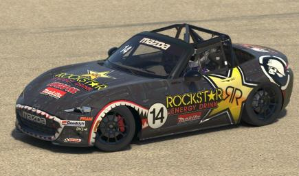 Brian Deegan Rockstar Energy Mazda MX-5