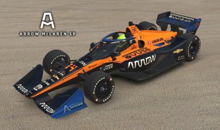 2020 Arrow McLaren SP - #7 Oliver Askew + Spec Map