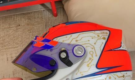 Hugo Charpentier Helmet