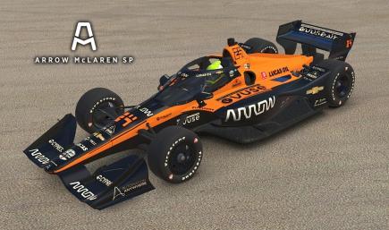 2020 Arrow McLaren SP - #5 Patricio O Ward + Spec Map