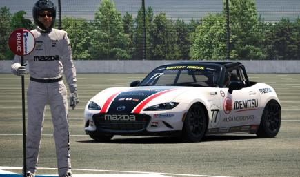 Mazda Motorsports Racing Suit