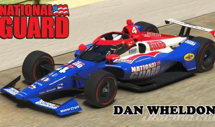 2009 National Guard Panther Racing  - #4 Dan Wheldon -