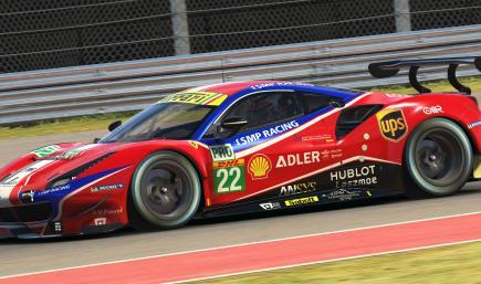 AF Corse #51 2020 WEC Ferrari 488 GTE