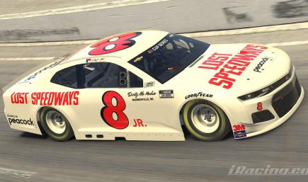 lost speedways custom numbered chevy