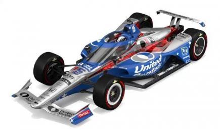 2020 Graham Rahal Indy 500 Livery