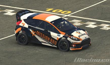 Mission BBQ Ford Fiesta RS WRC by JShankDesigns