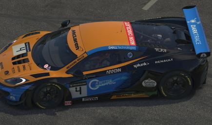 McLaren 12C GT3 - 2020 F1 style