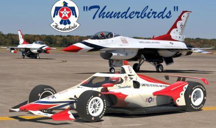 Indycar Dallara IR18 Thunderbirds