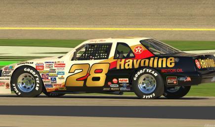 1987 Davey Allison Texaco Havoline with Number
