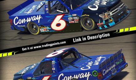 2009 Colin Braun michigan win  Con-Way F150 no#