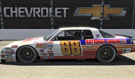 Dale Jr National Guard 2014 Monte Carlo (No Numbers)