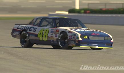 1987 Jimmie Johnson Lowes Monte Carlo (CUSTOM NUMBER)
