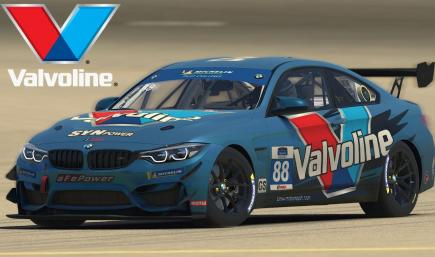 BMW GT4 Valvoline