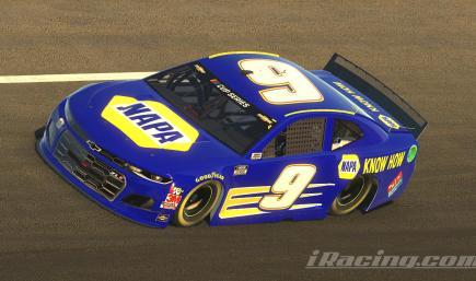 Chase Elliott/Waltrip NAPA Know How 2005 Chevy (Custom #)