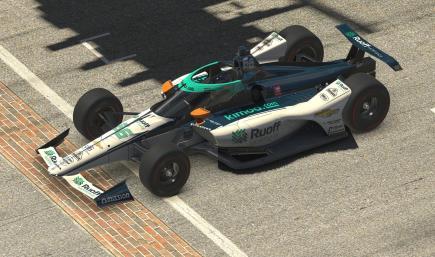 Fernando Alonso - Ruoff Mortgage - 2020 Indy 500