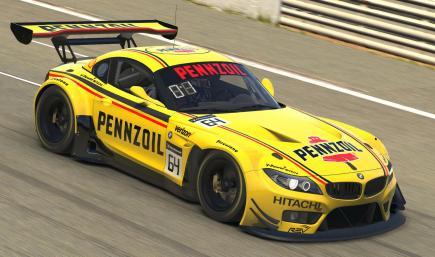 Pennzoil Shell BMW Z4 / Hélio Castroneves