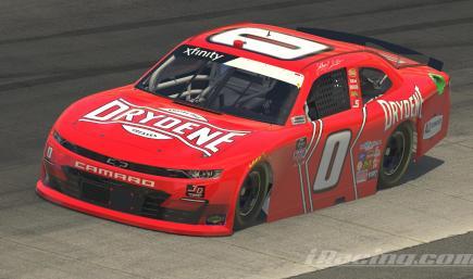 2020 Jeffrey Earnhardt No. 0 Drydene Chevrolet *CUSTOM NUMBERS*