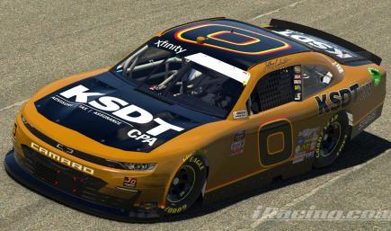 2020 Jeffrey Earnhardt No. 0 KSDT CPA Throwback Chevrolet *CUSTOM NUMBERS*