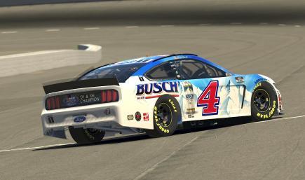 Kevin Harvick 2020 Busch Darlington Throwback - Custom Numbers