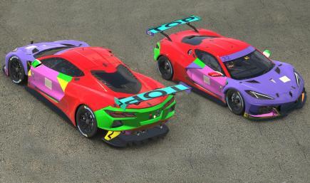 Corvette C8 GTE Colors