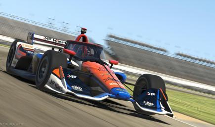 Dallara Indy ir18 - KF Kart