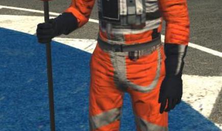 Star Wars X Wing pilot suit