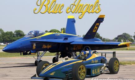 Formula Skip Barber Blue Angels