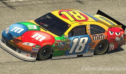 Kyle Busch 2011 M&Ms Toyota Camry COT