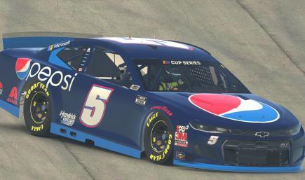 Kyle Larson 2021 Pepsi Camaro