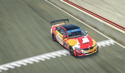 BMW Motorsport Livery Contest - Third Place - Monholo Oumar (France)