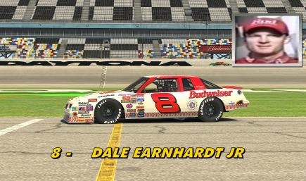Dale Jr 1987 all star game