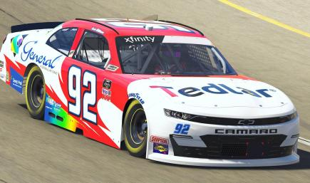 Josh Williams DuPont Tedlar / General Formulations Camaro