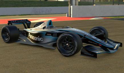 Dallara IR-01 Panasonic Jaguar