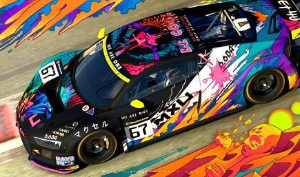 MXU Art Car - Audi R8 LMS GT3