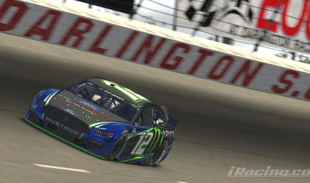 Fictional Ford Performance/Monster Cup Mustang **Number 12**